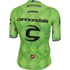 Castelli Cannondale Pro Cycling Team Climbers 2.0 Short Sleeve Jersey - Green: Image 2