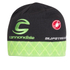 Castelli Cannondale Pro Cycling Team Team Tuque Beanie - Black/Green: Image 1