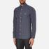 GANT Men's Small Indigo Tartan Shirt - Indigo: Image 2