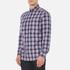 GANT Men's Dobby Plaid Shirt - Yale Blue: Image 2