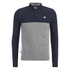 Le Shark Men's Benhill Long Sleeve Polo Shirt - Mid Grey Marl: Image 1
