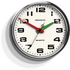 Newgate Brixton Wall Clock - Chrome: Image 1