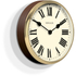 Newgate Parliament Wall Clock - Solid Wood: Image 2