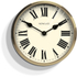 Newgate Parliament Wall Clock - Solid Wood: Image 1