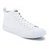 Polo Ralph Lauren Men's Clarke Canvas Hi-Top Trainers - Pure White: Image 2