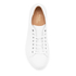 Polo Ralph Lauren Men's Jermain Leather Trainers - White: Image 3