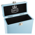 GPO Retro Portable Carry Case for 7-Inch Vinyl Records - Blue: Image 4