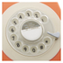 GPO Retro 746 Rotary Dial Telephone - Orange: Image 2