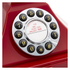 GPO Retro 1929S Classic Carrington Push Button Telephone - Red: Image 3