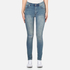 Cheap Monday Women's 'Second Skin' Jeans - Offset Blue: Image 1