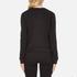 Cheap Monday Women's Win Stripe Logo Sweatshirt - Black: Image 3