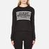 Cheap Monday Women's Win Stripe Logo Sweatshirt - Black: Image 1