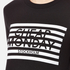 Cheap Monday Women's Win Stripe Logo Sweatshirt - Black: Image 5