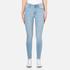 Cheap Monday Women's High Spray Jeans - Stone Bleach: Image 1
