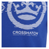 Crosshatch Men's Onsite Graphic T-Shirt - Mazarine Blue: Image 3