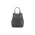 Furla Women's Stacy Rock Mini Drawstring Bag - Black: Image 7