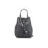 Furla Women's Stacy Rock Mini Drawstring Bag - Black: Image 1