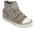 Ash Kids' Frog Leather Buckle Hi Top Trainers - Perkish: Image 2