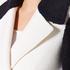 Diane von Furstenberg Women's Kayden Coat - Midnight/Canvas: Image 4