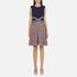 Diane von Furstenberg Women's Rosalie Dress - Midnight/Brown: Image 1