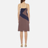 Diane von Furstenberg Women's Frederica Dress - Rickrack Khaki: Image 3