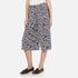 Diane von Furstenberg Women's Stanton Culottes - Ribon Rectangles Khaki: Image 2