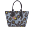 Vivienne Westwood Leopardmania Women's Shopper Bag - Grey: Image 1