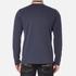 BOSS Green Men's Plisy Long Sleeve Polo Shirt - Blue: Image 3