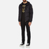 Versace Jeans Men's Quilted Jacket - Black: Image 4