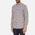 rag & bone Men's Beach Buttoned Shirt - Grey Check: Image 2