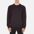 rag & bone Men's Wyatt Crew Neck Sweatshirt - Burgundy: Image 1