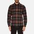A.P.C. Men's Trevor Checked Shirt - Noir: Image 1