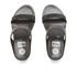 FitFlop Women's Banda Crystal Imi-Snake Slide Sandals - Black: Image 3