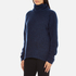 Gestuz Women's Oba Roll Neck Jumper - Navy Blazer: Image 2