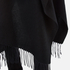 Gestuz Women's Malou Wool Poncho - Black: Image 4