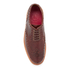 Grenson Men's Archie Pull Up Leather Brogues - Chestnut: Image 3