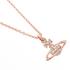 Vivienne Westwood Jewellery Women's Mayfair Bas Relief Pendant - Crystal: Image 3