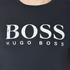 BOSS Orange Men's Tommi 3 Large Logo T-Shirt - Dark Blue: Image 5