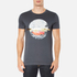 BOSS Orange Men's Taye 3 Printed T-Shirt - Navy: Image 1