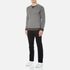 BOSS Orange Men's Warys Crew Neck Sweatshirt - Grey: Image 4
