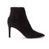 Kendall + Kylie Women's Liza Valeria Elastic Heeled Ankle Boots - Black: Image 1
