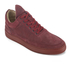 Filling Pieces Men's Monotone Stripe Low Top Trainers - Maroon: Image 2