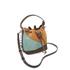 SALAR Women's Tala Small Edges Bucket Bag - Tan/Multi: Image 3