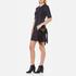 SALAR Women's Mimi Fringe Bag - Black: Image 2