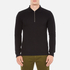 GANT Rugger Men's Zipped Pique Polo Shirt - Black: Image 1