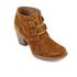 Clarks Women's Carleta Lyon Suede Heeled Ankle Boots - Tan: Image 2