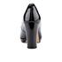 Clarks Women's Kendra Sienna Patent Platform Court Shoes - Black: Image 3