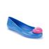 Jeremy Scott for Melissa Women's Space Love Ballet Flats - Blue Contrast Heart: Image 2