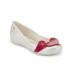 Vivienne Westwood for Melissa Women's Ultragirl 16 Ballet Flats - Pearl Red Cherub: Image 2