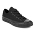 Converse Chuck Taylor All Star '70 Vintage Canvas Low Top Trainers - Black Monochrome: Image 2